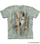 Focused Wolf - 10-6423 - Adult Tshirt