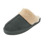 Minnetonka Moccasins 40885 - Women's Chesney Scuff - Charcoal