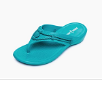 Minnetonka Moccasins 570440 - Womens Silverthorne Prism Sandal - Turquoise