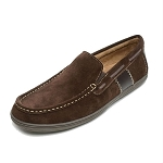 Minnetonka Moccasins 6232- Men's Grant Moccasin - Chocolate