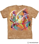 Rainbow Dance - 10-6415 - Adult Tshirt - Native American