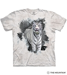 Eyes of Ice White Tiger - 10-6471- Adult Tshirt