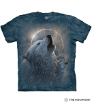 Wolf Eclipse - 10-6419 - Adult Tshirt