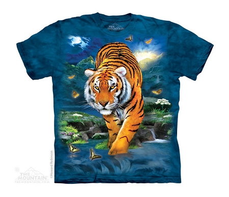 3D Tiger - 15-4134 - Youth Tshirt