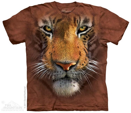 Tiger Face - 15-3251 - Youth Tshirt