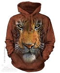 Tiger Face - Adult Hoodie