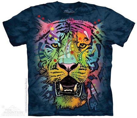 Russo Tiger Face - 10-5774 - Adult Tshirt