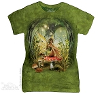 Toadstool Fairy - Ladies Fitted Tee