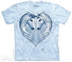Unicorn Heart - Adult Tshirt