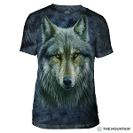 Warrior Wolf - 54-4979 - Men's Triblend T-shirt