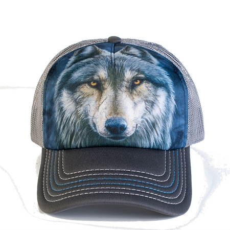 Warrior Wolf - 76-4979 - Trucker Hat