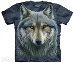 Warrior Wolf - 10-4979 - Adult Tshirt
