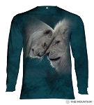 White Lions Love - 45-5937 - Adult Long Sleeve T-shirt