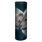 White Lions Love - 59-5937 - Stainless Steel Barista Travel Mug