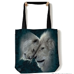 White Lions Love - 97-5937 - Everyday Tote