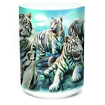 Night Tiger Collage - 57-6273-0901 - Coffee Mug