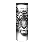 White Tiger Endangered - 59-5551 - Stainless Steel Barista Travel Mug