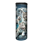 White Tiger Collage - 59-6273 - Stainless Steel Barista Travel Mug