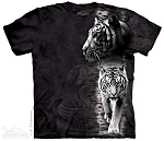 White Tiger Stripe - 10-3004 - Adult Tshirt