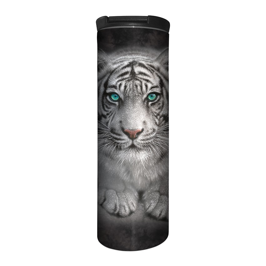 White Tiger Wild Intentions - 59-6274 - Stainless Steel Barista Travel Mug