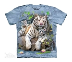 White Tigers Of Bengal - 15-4135 - Youth Tshirt