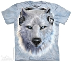 White Wolf DJ - 15-3518 - Youth Tshirt