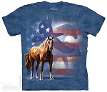 Wild Star Flag - 10-3714 - Adult Tshirt