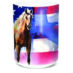 Wild Star Flag - 57-3714-0901 - Coffee Mug