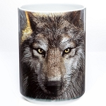 Wolf Face - 57-3249-0901 - Everyday Mug