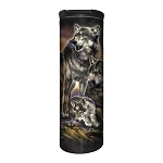 Wolf Family Sunrise - 59-6282 - Stainless Steel Barista Travel Mug