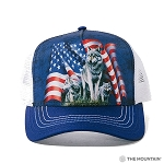 Wolf Flag - 94-1002 - Trucker Hat