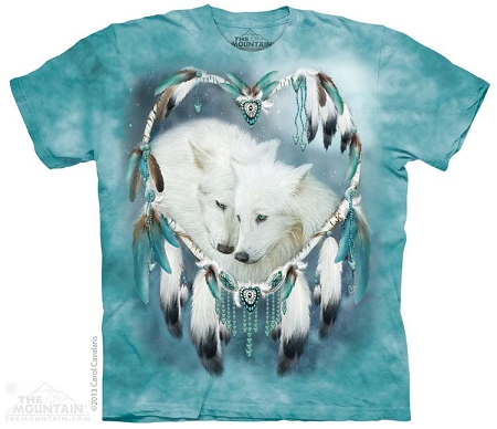 Wolf Heart - 10-3817 - Adult Tshirt