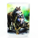 Wolf Lookout - 57-4978-0901 - Everyday Coffee Mug