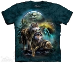Wolf Lookout - 10-4978 - Adult Tshirt