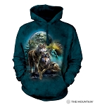 Wolf Lookout - 72-4978 - Adult Hoodie