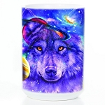Wolf of the Cosmos - 57-4308-0901 - Everyday Coffee Mug