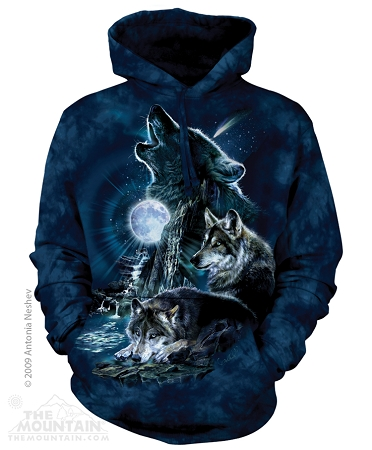 Bark At The Moon - 72-2275 - Adult Hoodie