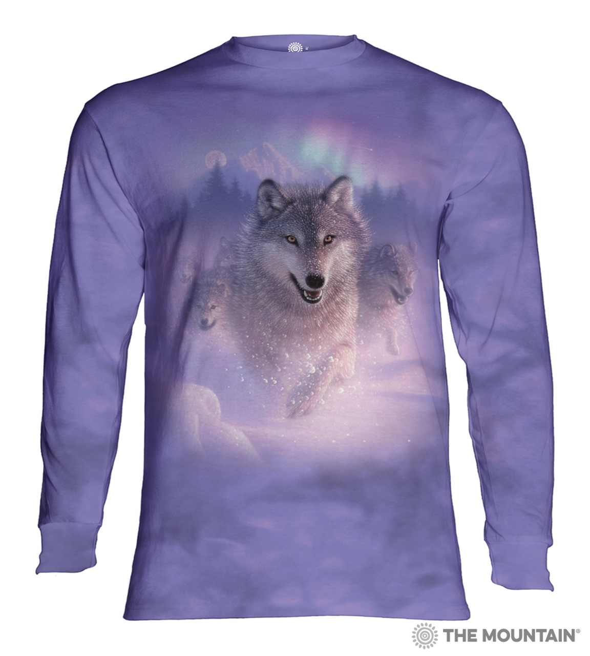 Northern Lights - 45-4881 - Adult Long Sleeve T-shirt
