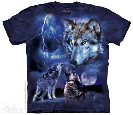 Wolves Of The Storm - 10-4111 - Adult Tshirt