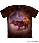 Spirit of the Moon Wolves - 10-6285 - Adult Tshirt
