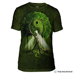 Yin Yang Tree - 54-3209 - Men's Triblend T-shirt