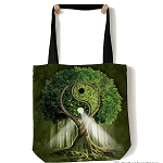 Yin Yang Tree - 97-3209 - Everyday Tote