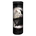 Yin Yang Wolves - 59-3922 - Stainless Steel Barista Travel Mug