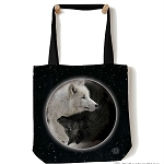 Yin Yang Wolves - 97-3922 - Everyday Tote
