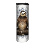 Vriksasana Sloth - 59-6286 - Stainless Steel Barista Travel Mug