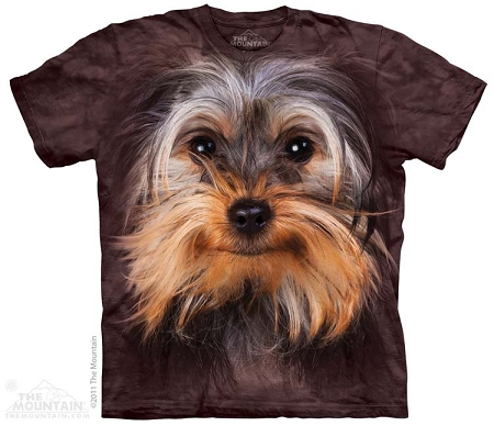Yorkshire Terrier Face - 10-3335 - Adult Tshirt