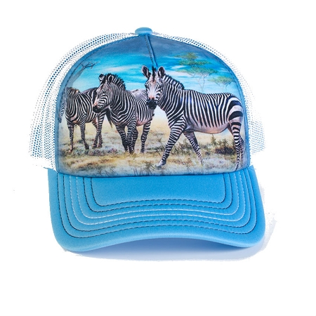 Zebra Gathering - 76-5913 - Trucker Hat