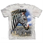 Zebra Portrait - 15-5965 - Youth Tshirt