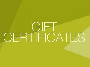 $ 25 Gift Certificate