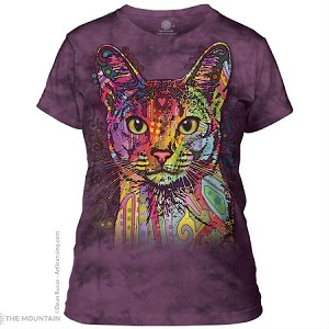 Abyssinian Cat - 28-3851 - Ladies Fitted Tee